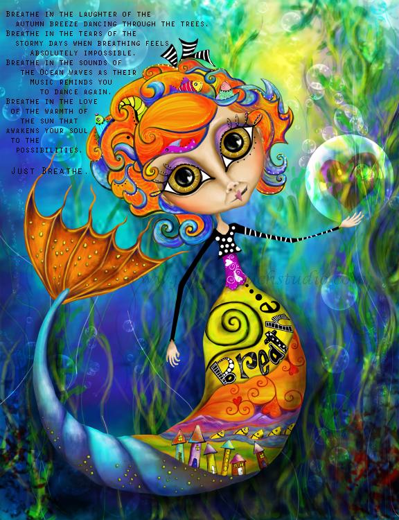 Breathe Mermaid WM72