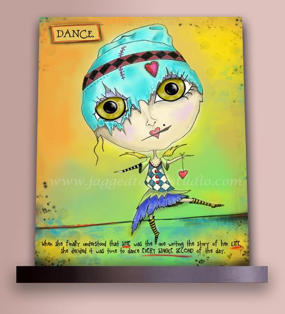 Dance on Shelf Sample