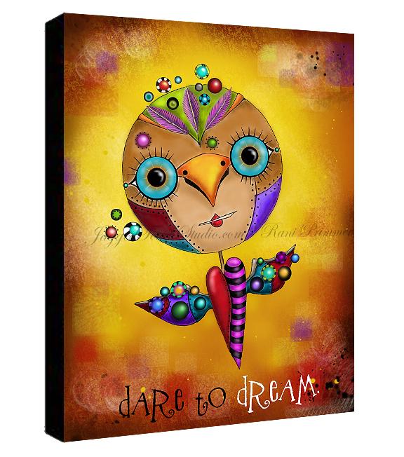 Dream Bird Canvas Sample