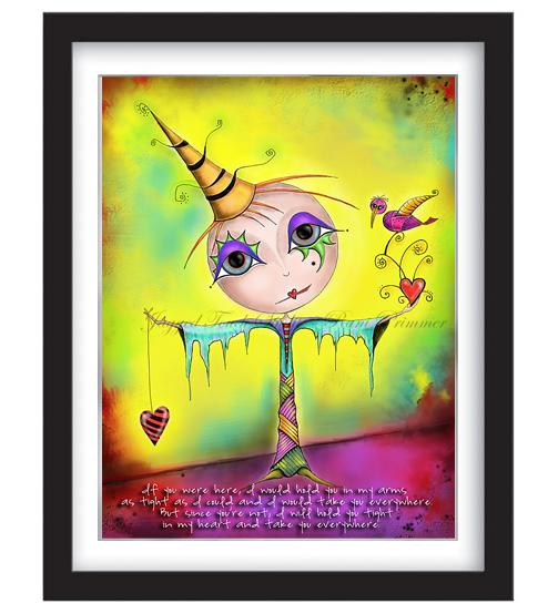 In My Heart Framed Sample