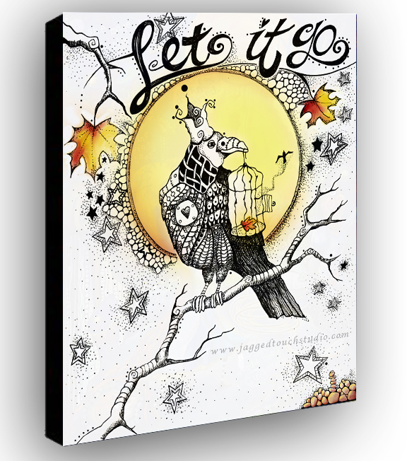 Let it Go Canvas Sample