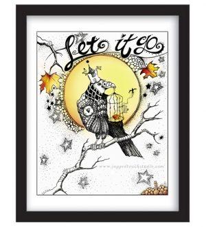 Let it Go Framed Sample