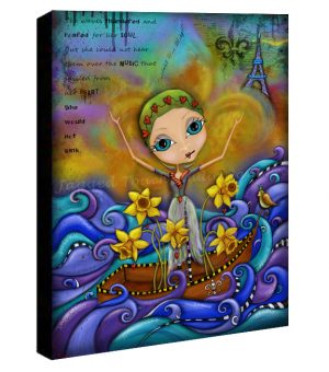She Would Not Sink Canvas Sample