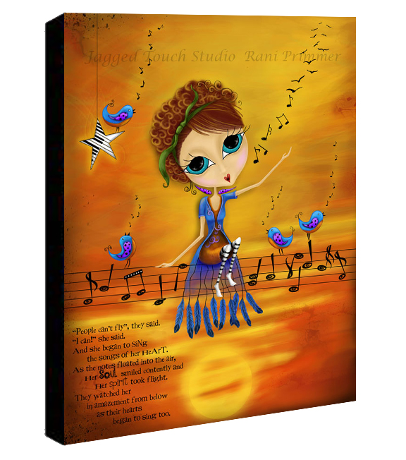 Songs of the Heart Canvas Sample