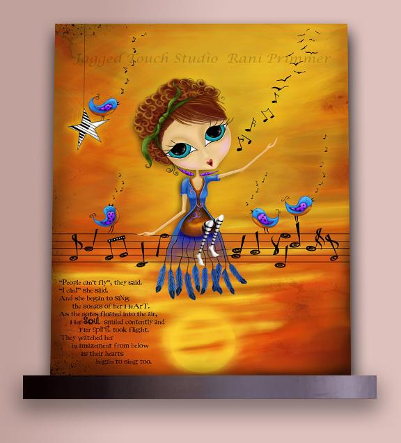 Songs of the Heart on Shelf Sample