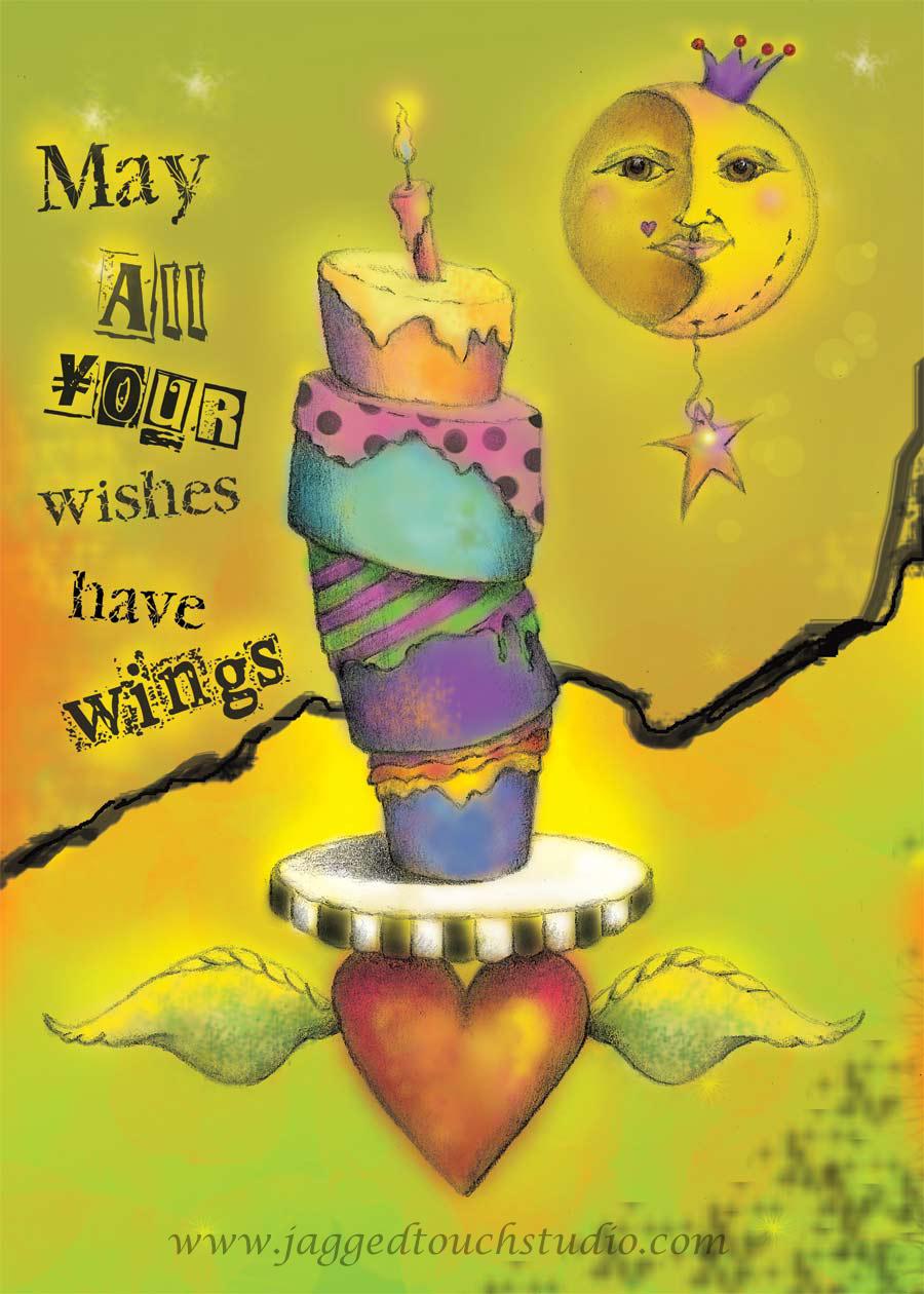 Winged Wishes WM72