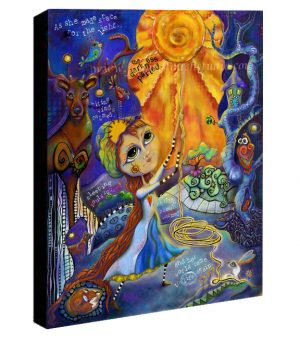 Winny Soulstice the Light Keeper Canvas Sample