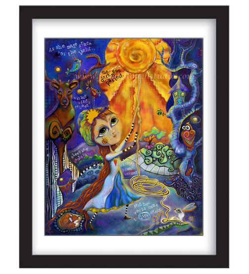 Winny Soulstice the Light Keeper Framed Sample
