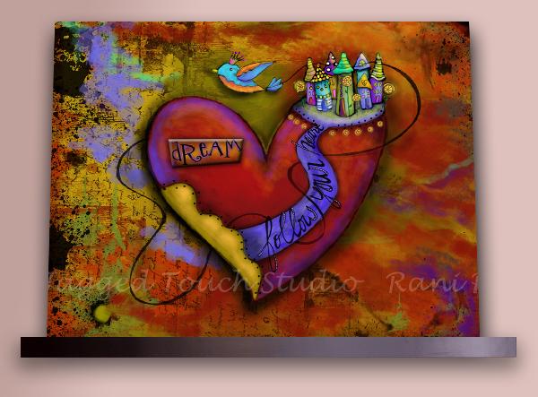 ZHD Follow Your Heart Dream on Shelf Sample