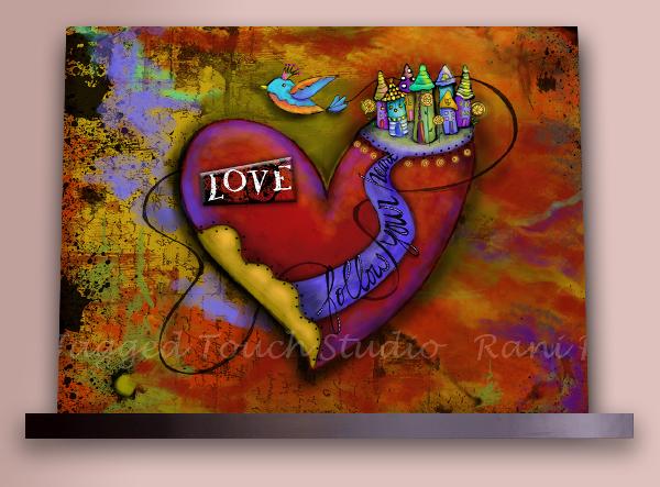 ZHD Follow Your Heart Love on Shelf Sample