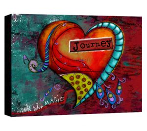 ZHD Seek the Magic Journey Canvas Sample