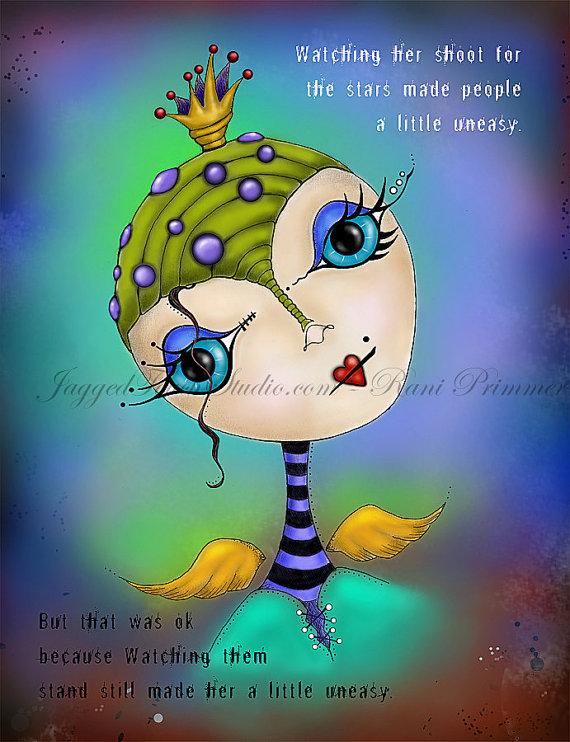 Dream Princess Print