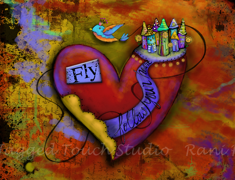 Follow Your Heart - Fly Print